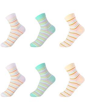 Calcetines De Algodón De Las Mujeres En Los Calcetines De Tubo De Otoño E Invierno Lindo Calcetines Desodorante...