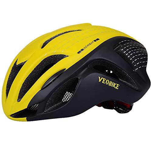 wthfwm Rennradhelm Erwachsener Fahrradhelm Sportschutzhelm Leichter Mountainbike-Helm,A-57/62cm