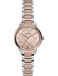 Ladies Burberry Classic redondo reloj bu10117