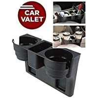 Divinezon Car Organizer for Accessories & Cup Holder, Car Valet Instant Tray