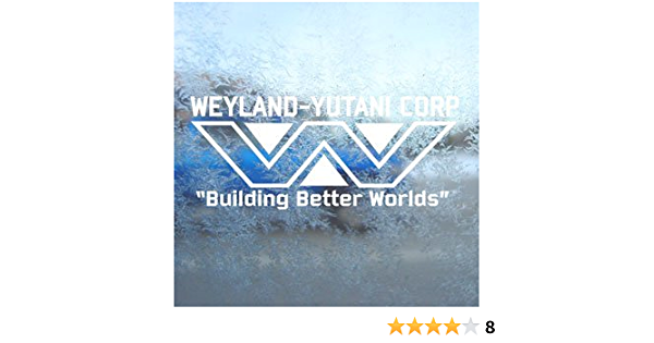 Aufkleber Autoaufkleber Sticker Decal Weyland Yutani White Decal Aliens Lv 426 Hive Car White Sticker Auto