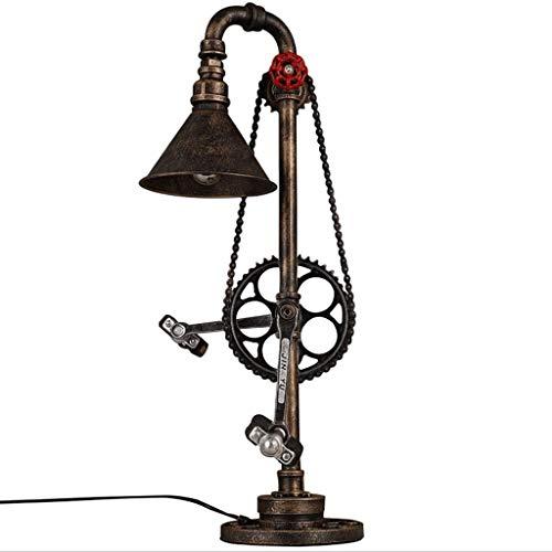 Lámpara de mesa industrial Lámpara de escritorio Lámpara de ...