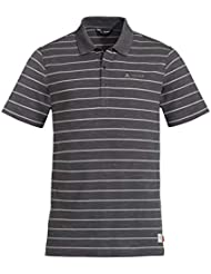 VAUDE Labisco Polo Camiseta Hombre, Gris Oscuro Small