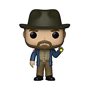 Funko - 36039 - Pop Vinilo, televisión, Stranger Things, Hopper con Linterna, Multi