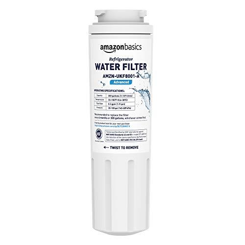 AmazonBasics Filtre à eau de rechange pour réfrigérateur Maytag UKF8001 - Filtration Advanced