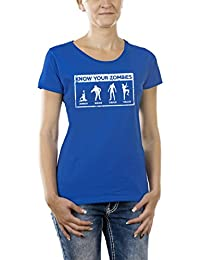 Touchlines Women's Know Your Zombies T-Shirt