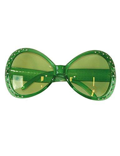 Preisvergleich Produktbild Party Brille Diamant Rahmen grün