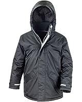 New Result Core Junior Winter Parka Kids Windproof School Jackets Coat Top