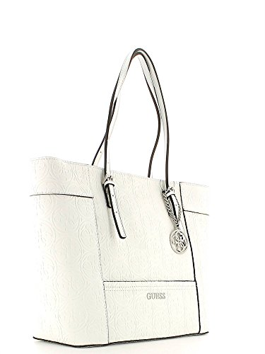 GUESS DELANEY MEDIUM CLASSIC TOTE HL4535230 WHITE