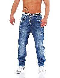 CIPO & BAXX - C-1170 - cintura slim Leg loose - Men/pantalones vaqueros para hombre