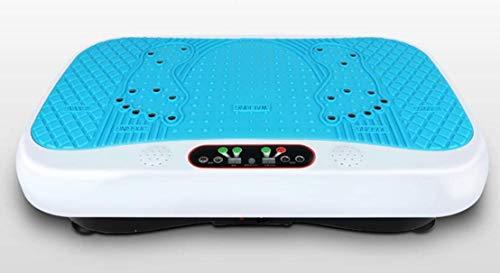 Gute Qualität Body Fit Vibrationsplatte mit MP3 Bluetooth Lautsprecher und Touch Panel, blau