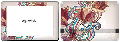getitstickit veukskintabamafirehd89 _ 228,6 cm Tulip Blume mit Floral Background Design