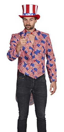 Andrea Moden 593-54/56 Kostüm Uncle Sam, Unisex- Erwachsene, (Uncle Sam Für Erwachsene Herren Kostüm)