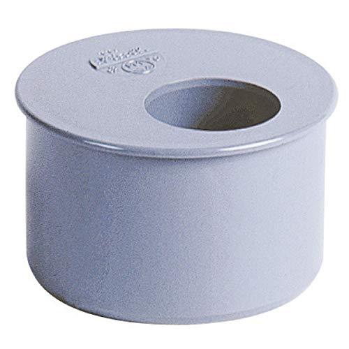 tampon de réduction - mâle / femelle - simple - diamètre 75 / 50 mm - nicoll p5