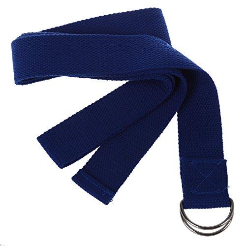 """TOOGOO(R) 1 PCS Couleur aleatoire 67"""" exercice yoga etirement Sangle Coton Ceinture Pilates Fitness Prop"""