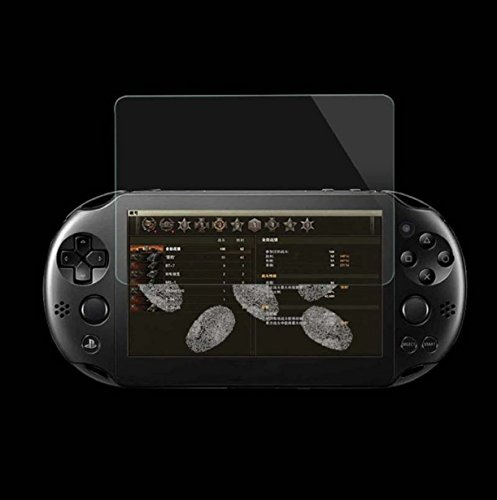 hipzop gehärtetem Glas Film Displayschutzfolie für Sony Playstation PS Vita PSV 2000 (Cd Es Sony Player)