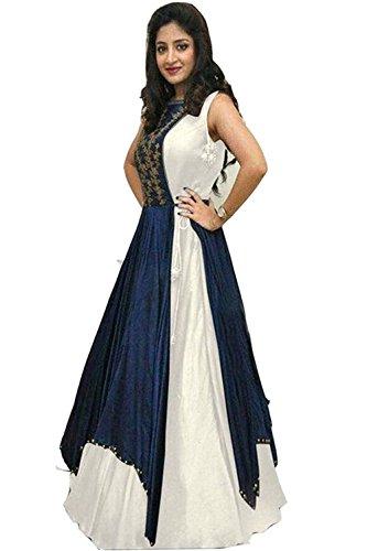 Crazy Fab Deal offers Women's Lehenga Choli (VC_0011 Color: Beige Free Size)