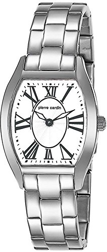 Pierre Cardin Women's Quartz Watch with Silver Dial Analogue Display and Silver Stainless Steel Bracelet PC104562S01