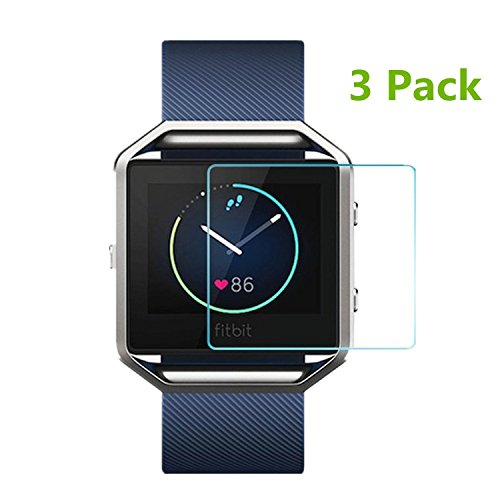 moukou-fitbit-blaze-smart-watch-screen-protector-3-pack-tempered-glass-screen-protectors-for-fitbit-