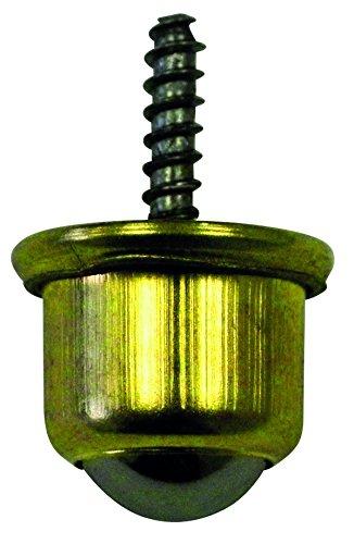 Kugellagerrollen mit Schraube chromatiert 25mm