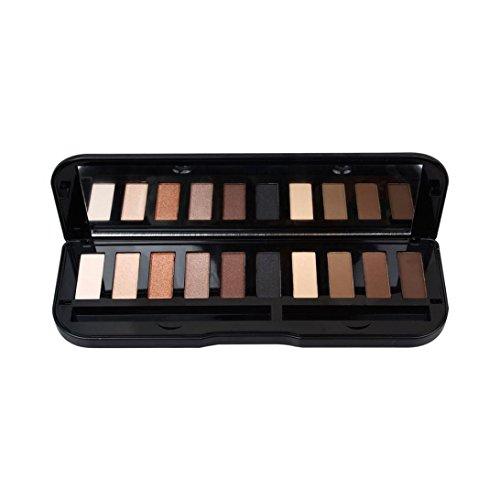 Fard à paupières Set, Malloom 10 couleur Lèvres de maquillage durable durable (B)