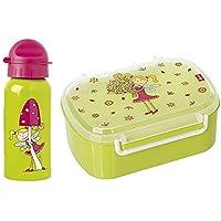 Sigikid 2er Set 24782 24445 Trinkflasche Florentine + Brotzeitbox Florentine preisvergleich bei kinderzimmerdekopreise.eu
