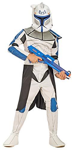 Blue Clonetrooper Captain Rex Kostüm für Kinder - Gr. S (3-4 ()