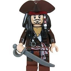 LEGO Piratas del Caribe - Figura del capitán Jack Sparrow.