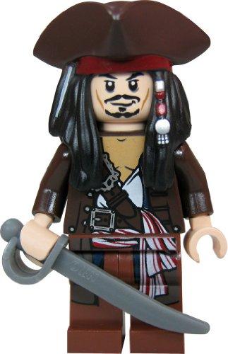 LEGO Piratas Caribe - Figura capitán Jack Sparrow