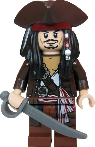 flying dutchman lego LEGO® Fluch der Karibik / Pirates of the Caribbean™ Minifigur Jack Sparrow mit Dreispitz