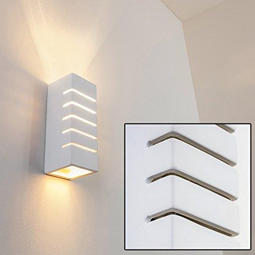 Applique moderna da parete Design Geometrico- Luce diffusa sopra e ...