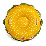 BigMouth Toys BMST-0018 Big Mouth Snow Tube Cheeseburger, Mehrfarbig