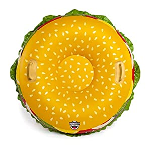 Big Mouth Toys BMST-0018 Big Mouth - Tubo de Nieve para Hamburguesa de Queso
