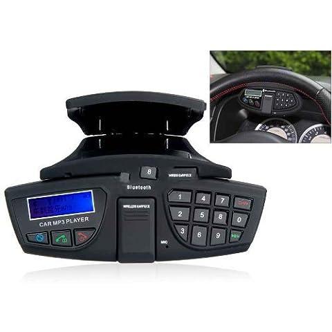Ckeyin BA-004H - Kit manos libres para coche, negro