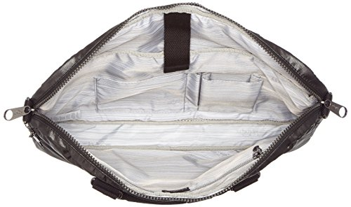 Kipling - KAITLYN - Computer Tasche - Metallic Blck - ( Schwarz) Metallic Black