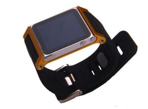ZSTX Multi-Touch Aluminium-Armband Tasche für Apple iPod nano 6. Generation 8GB 16GB (OEM) (Gold)