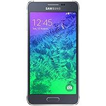 "Samsung Alpha - Smartphone libre Android (pantalla 4.7"", cámara 12 Mp, 32 GB, 1.8 GHz, 2 GB RAM), negro (importado de Alemania)"