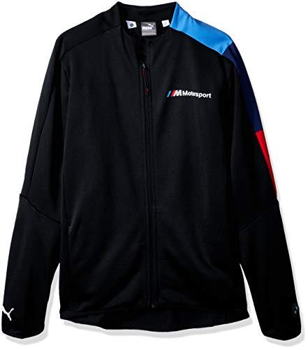 PUMA Herren BMW Motorsport T7 Track Jacket Sweatshirt, F Anthrazit, Medium