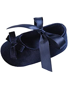 Baby Krippeschuhe, Babyschuhe Longra Kleinkind Baby Mädchen Schuhe Princess Flower Soft Prewalker Lauflernschuhe...