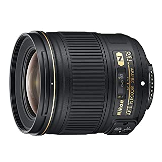 Nikon AF-S 28mm F1.8 G - Objetivo para Nikon (Distancia Focal Fija 28mm, Apertura f/1.8) Color Negro (B007VGGIRK) | Amazon price tracker / tracking, Amazon price history charts, Amazon price watches, Amazon price drop alerts