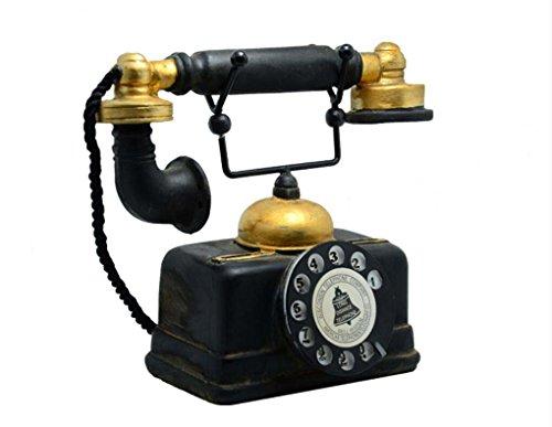 Elwow - Teléfono decorativo estilo antiguo, para la casa, el dormitor