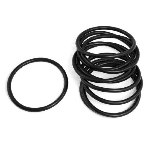 10x 50mm x 4mm NBR O Ringe Dichtungen Unterlegscheiben versiegelt Automobil-Bohrung für