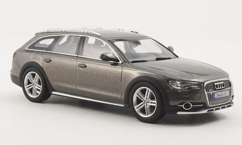 Audi A6 Allroad quattro (C7), girgio scuro met. , 2012, modello di automobile, modello prefabbricato, Kyosho 1:43 Modello esclusivamente Da Collezione