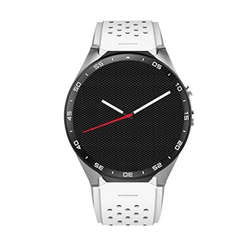 Reloj Inteligente Bluetooth KW88 con Pantalla táctil y Monitor de  frecuencia cardíaca Reproducción de música Soporte Smart Health Watch  Tarjeta