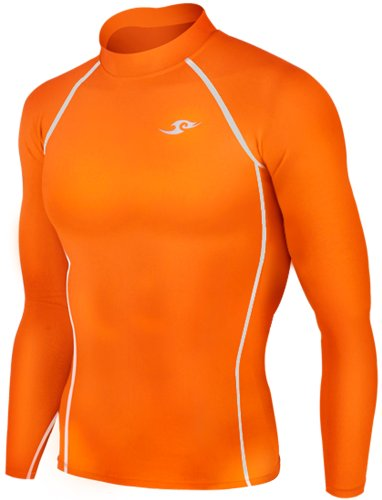 new-137-skin-tight-da-running-a-compressione-strato-base-da-uomo-colore-arancione-arancione-arancion