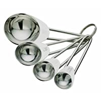 King International Stainless steel measuring spoon set of 4 pcs