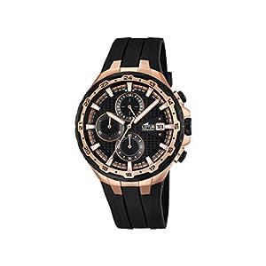 Lotus 18186/1 – Reloj de Pulsera con cronógrafo para Hombre (Mecanismo