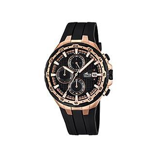 Lotus-Herren-Chronograph-Quarz-Uhr-mit-Gummi-Armband-181861