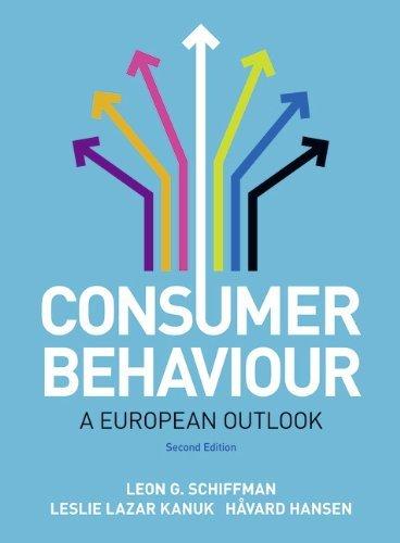 consumer behavior schiffman pdf free download