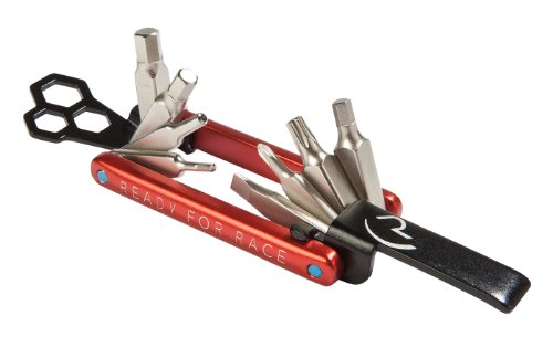 Cube RFR Multi Tool 12 Fahrrad Mini Werkzeug rot